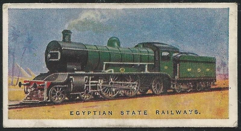 Canada 1930s Train | Imperial Tobacco Company Railway Engines Cigarettes Card