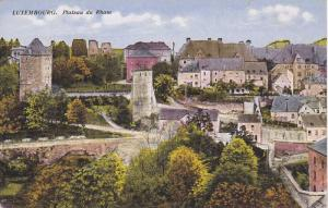 Plateau Du Rham, Luxembourg, 1910-1920s