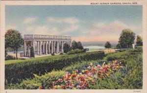 Nebracka Omaha Mount Vernon Gardens 1938