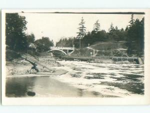 Pre-1949 rppc NICE VIEW Victoria - Vancouver Island British Columbia BC W1037