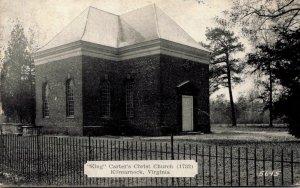Virginia Kilmarnock King Carter's Christ Church 1945 Dexter Press