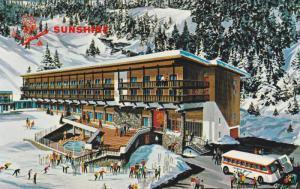 Sunshine Inn, Swimming Pool, Banff, Alberta, Canada, 40-60s