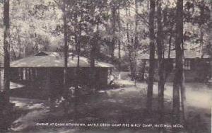 Michigan Hastings Cabins at Camp Kitanniwa Battle Creek Campfire Girls Artvue