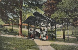 CHESTER , West Virginia , 1900-10s ; Rustic House, Rock Springs Park