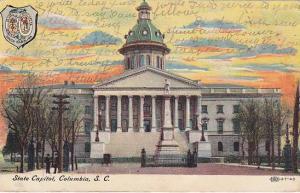 Exterior, State Capitol, Columbia, South Carolina,  PU-1910