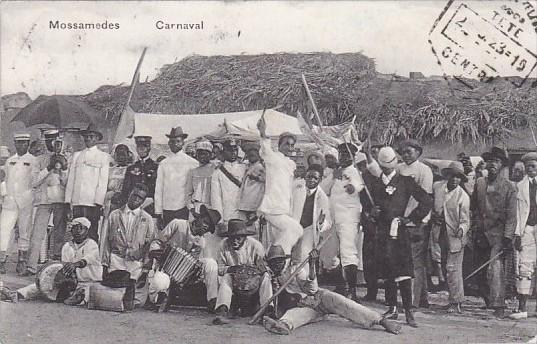 Angola Namibe Carnival Musicians Mossamedes 1915