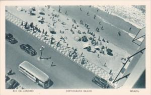 Brazil Rio De Janeiro Copacabana Beach