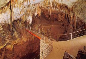 Slovenia Postojnska Jama Grotte Cave The Russian Bridge Postcard