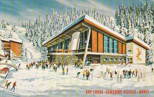 Canada Day Lodge Sunshine Village Banff Alberta
