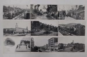 Group of 9 Hot Springs Arkansas Street Scenes Buildings Antique Postcard J72704
