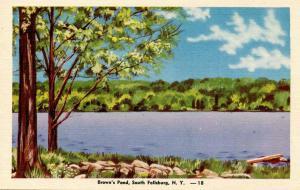 NY - South Fallsburg, Brown's Pond