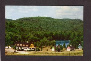QC Chateau Beauvallon Hotel Mont Tremblant Quebec Canada Carte Postale Postcard