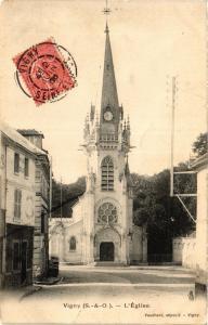 CPA  Vigny - L'Eglise  (385039)