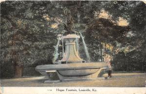 C51/ Louisville Kentucky Ky Postcard c1910 Hogan Fountain Park