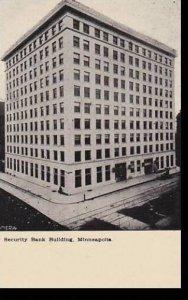 Minnesota Minneapolis Security Bank Building