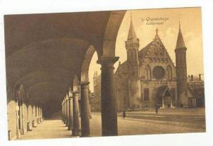 Church & Street / Ridderzall,The Hague,Netherlands 1900-10s