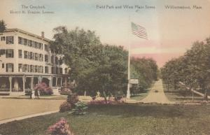 WILLIAMSTOWN, Massachusetts, 1900-10s; Field Park and West Main Street