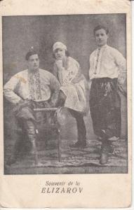 Soviet Circus Russian Elizarov Souvenir rare Fratii Katz Cluj 1923 postcard