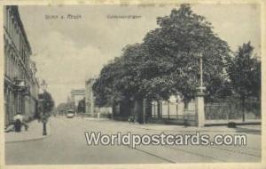 Bonn a Rhein Germany, Deutschland Postcard Coblenzerstrasse Bonn a Rhein Cobl...