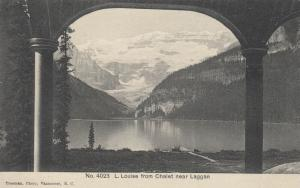 LAGGAN , Alberta , Canada , 1900-10s ; L.Louise from Chalet
