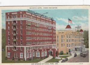 HOT SPRINGS , Arkansas , 1929 ; Majestic Hotel