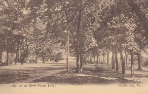 HARRISBURG, Pennsylvania, 00-10s; Glimpse of River Front Drive