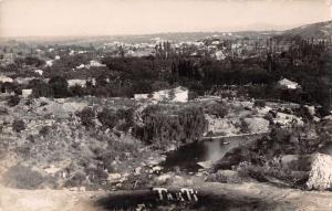 Takti Argentina Birds Eye View Real Photo Antique Postcard J66497