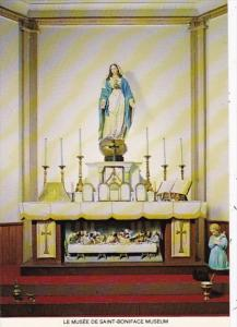 Canada Winnipeg Saint Boniface Museum Built 1846 Virgin Of The Altar Statue