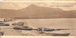 BR40526 Brodick bay and goatfell arran    Scotland