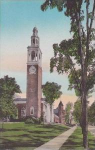 Vermont Burlington Ira Allen Chapel and College Row University of Vermont Alb...
