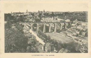 Bridge, Vue Generale, Luxembourg, 1900-1910s