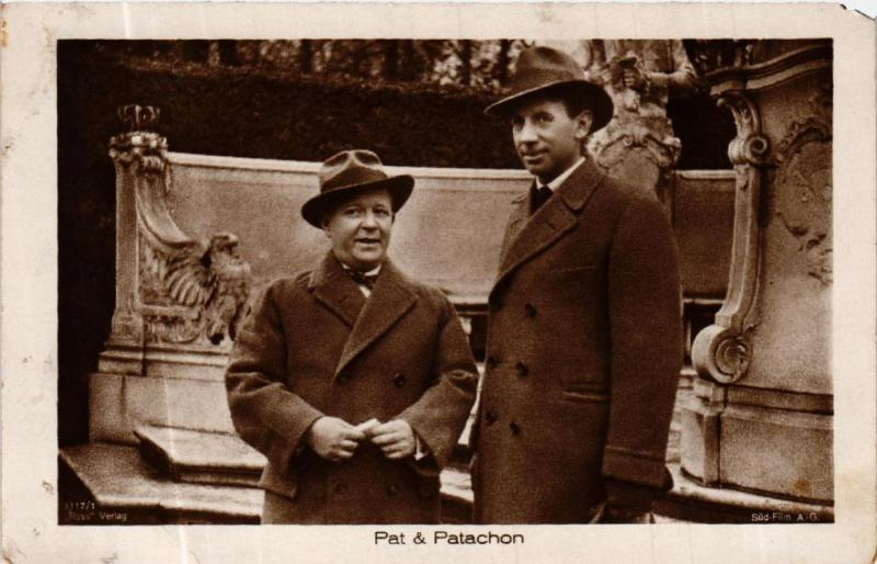 CPA AK PAT and PATACHON. Ross Verlag 3117/1 Film Star (601716)