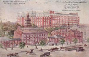Presented With The Compliments Of The Curtis Publishing Company Building Phil...