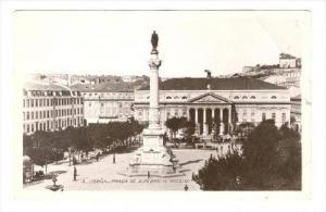 RP  Lisboa.-Praca de D.Pedro IV(Rocio) , Portugal, 1910s
