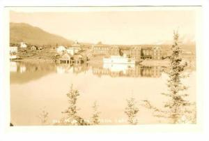RP: Steamship at Atlin Inn , ATLIN , B.C. , Canada , 1910-20s