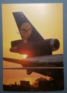 Lufthansa Postcard