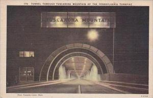 Pennsylvania Tunnel Through Tuscarora Mountain Of The Pennsylavania Turnpike