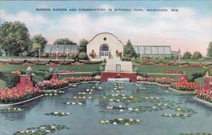 Wisconsin Milwaukee Sunkien Garden And Conservatory In Mitchell Park