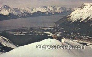 MT Alyeska, AK USA Ski, Skiing Unused