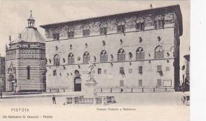 Palazzo Pretorio E Battistero, Pistoia (Tuscany), Italy, 1900-1910s