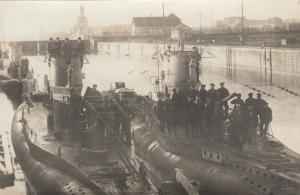 RP: U-Boats (Submarines) & Crews , Wilhelmshaven , Germany , 00-10s