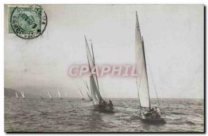 PHOTO CARD boat Sailboat Italy