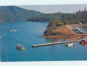 Unused Pre-1980 LAKE SCENE Whiskeytown Lake - Near Redding California CA F3077