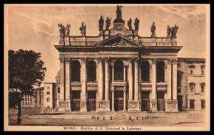 Basilica di S Giovanni in Laterano,Rome,Italy BIN