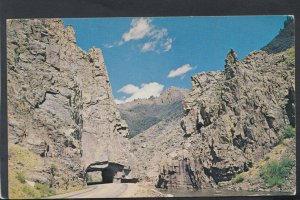 America Postcard - The Tunnel, Little Narrows, Colorado   RS19703