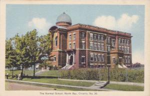 Normal School , NORTH BAY , Ontario , Canada , 30-40s