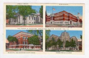 4-View,Public Library, High School, Municipal & Superior Court, Presbyterian ...