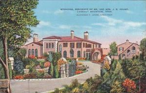 Tennessee ChattanoogaLookout Mountain Stonedge Residence Of Mr And Mrs J B Pond