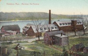 AMESBURY , Massachusetts, 1900-10s , Merrimac Hat Factory