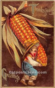 Thanksgiving Old Vintage Antique Postcard Post Card 1910